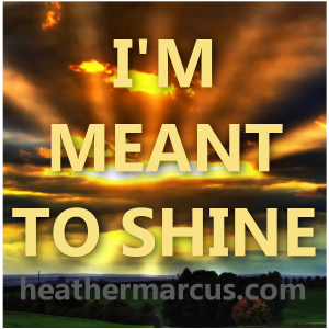 meant to shine