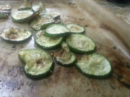 Zucchini Chips – Saturday Afternoon Snack