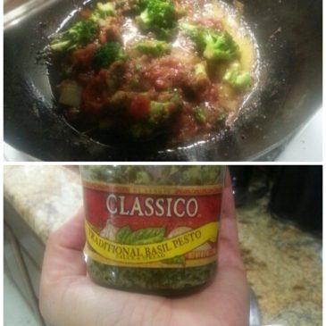 Zucchini spaghetti