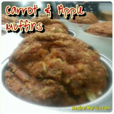 Carrot & Apple Muffins – An Original Recipe