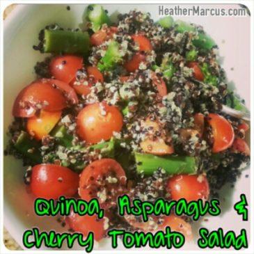 Quinoa, Asparagus & Cherry Tomato Salad