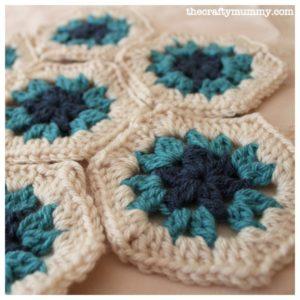 crochet-hexagons